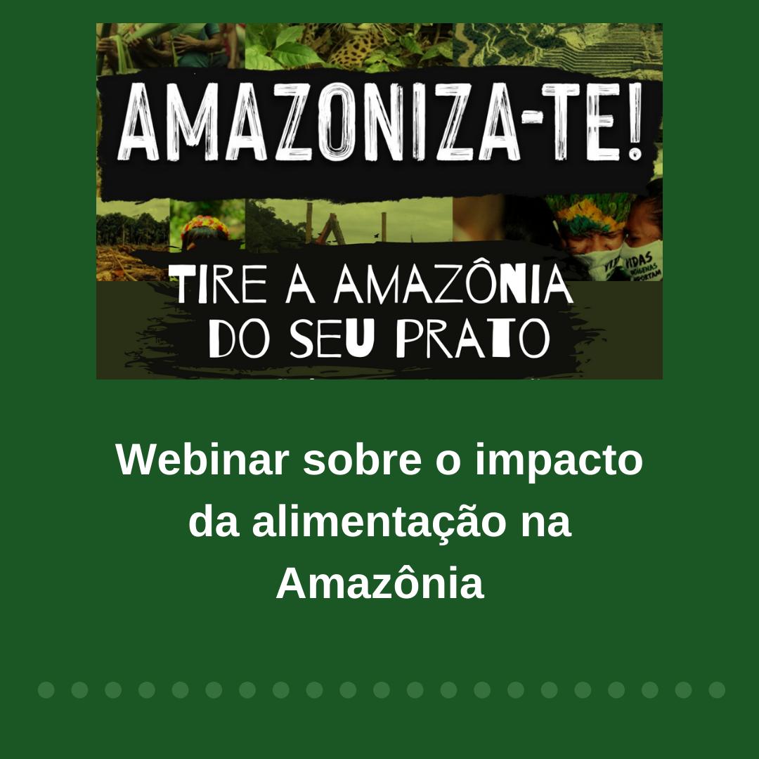 Pesquisadora da DIIAV-INPE, Luciana Gatti, participa de webinar sobre o impacto da alimentação na Amazônia